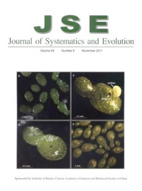 Journal of Systematics and Evolution杂志投稿格式