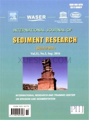 International Journal of Sediment Research发表论文