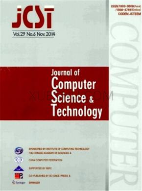 Journal of Computer Science and Technology论文发表价格
